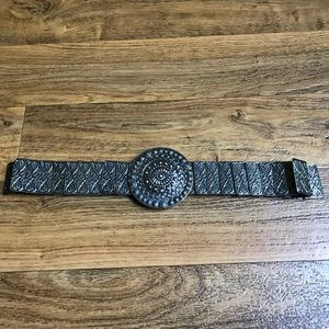 Accessories - Bohemian Metal Belt Sequent Segmented Round Buckle